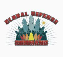 Global Defense Command - Light Kids Tee