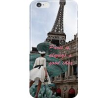Paris Revisited iPhone Case/Skin
