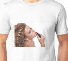 Amazing Beauty with stunning Make Up Unisex T-Shirt