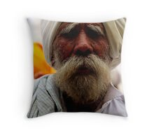Wise Wrinkles Throw Pillow