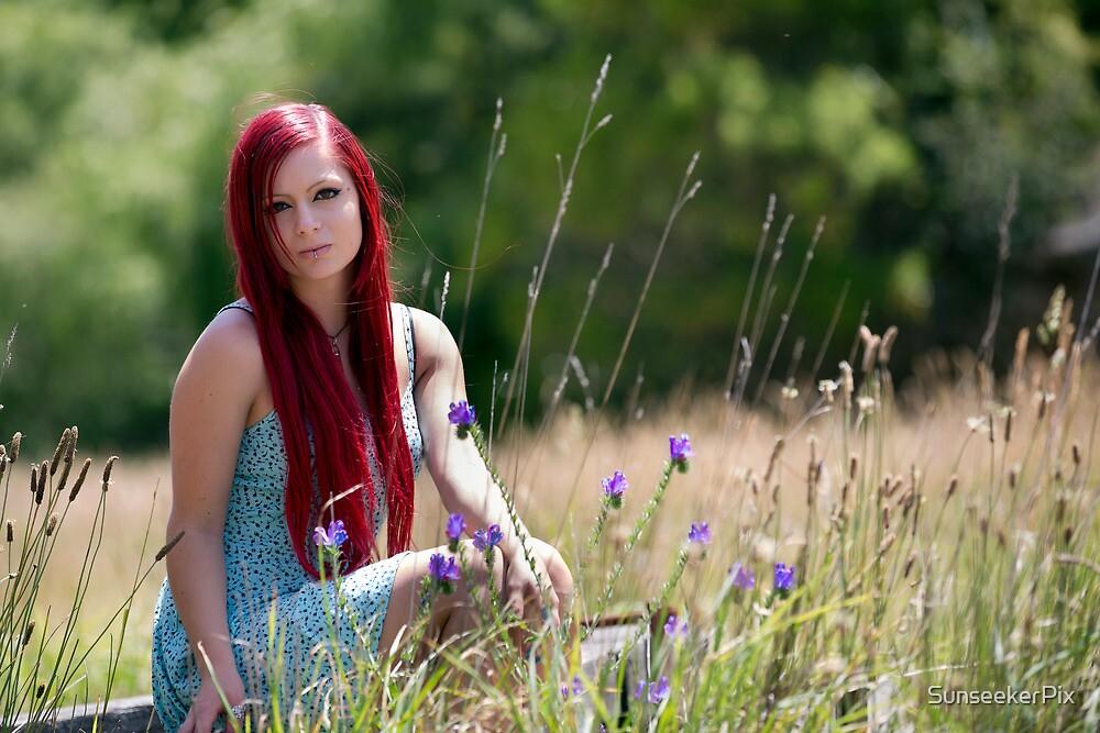 Zoe in the meadow by SunseekerPix