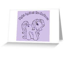 My Little Artax Greeting Card