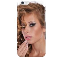 Stunning Beauty with amazing Make Up iPhone Case/Skin