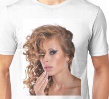 Stunning Beauty with amazing Make Up Unisex T-Shirt