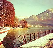 Annecy Golden Fairytale. France by JennyRainbow