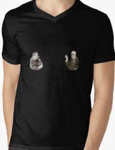 God is dad Mens V-Neck T-Shirt