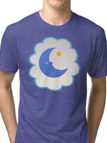 Bedtime Bear (high version) Tri-blend T-Shirt