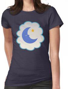 Bedtime Bear (high version) Womens Fitted T-Shirt