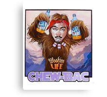 Chew-bac Canvas Print