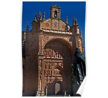 Spain. Salamanca. San Esteban Church. Poster