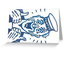 POMPEY SAILOR Greeting Card