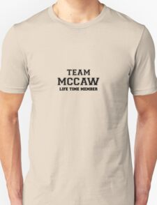 Team MCCAW, life time member T-Shirt
