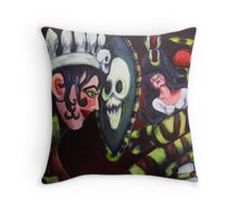 Snow White and The Evil Queen Throw Pillow