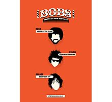 Bobs, ranked by hair neatness Photographic Print