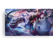 Poro Rider Sejuani League of Legends Canvas Print
