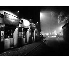Misty Cracow . Shalom. Photographic Print