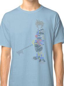 Kingdom Hearts Sora Typography Classic T-Shirt