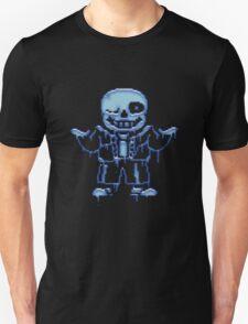 Undertale Sans Ectoplasm Design T-Shirt