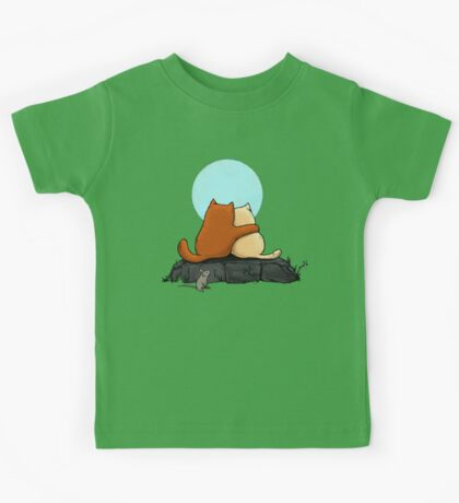 Two Cats Kids Tee