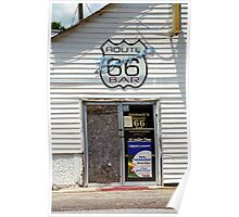 Route 66 - Bernie's Bar Poster