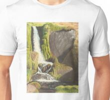 Waterfall, Knoydart Unisex T-Shirt