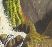 Waterfall, Knoydart Sticker
