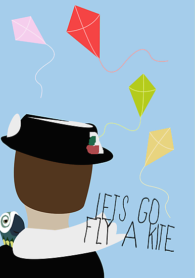 Let's go fly a kite by Jessica Slater