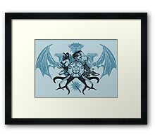 What is Thy Last Name, Ser? Framed Print