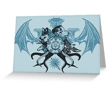 What is Thy Last Name, Ser? Greeting Card