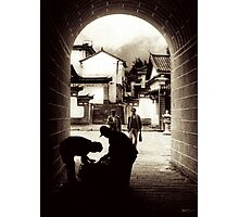 Passage in Dali Photographic Print