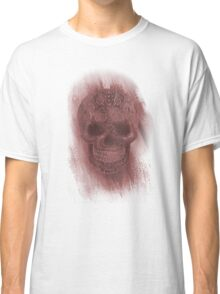 Skull- Study In Red Classic T-Shirt