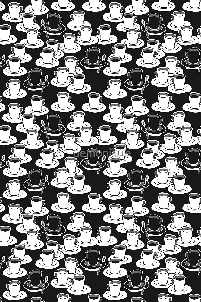black or white? your good morning cofee by demonique