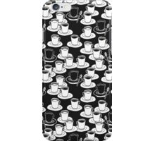 black or white? your good morning cofee iPhone Case/Skin