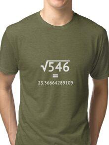 Arbitrary Square Root (light) Tri-blend T-Shirt