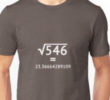 Arbitrary Square Root (light) Unisex T-Shirt
