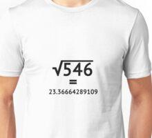 Arbitrary Square Root Unisex T-Shirt