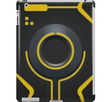 Geometric Abstraction in yellow iPad Case/Skin