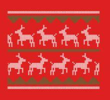 Christmas Sweater One Piece - Long Sleeve