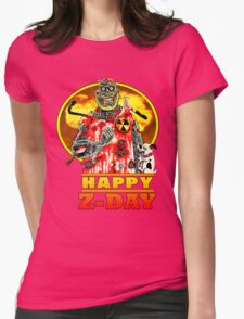 Happy Z-Day Womens Fitted T-Shirt