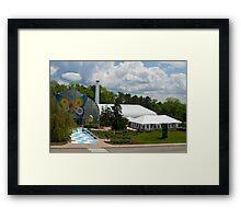 Krohn Conservatory  Framed Print