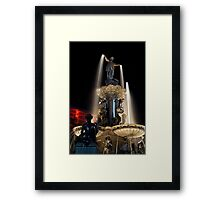 The Fountain Cincinnati Framed Print