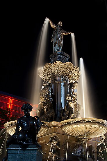 The Fountain Cincinnati by Phil Campus