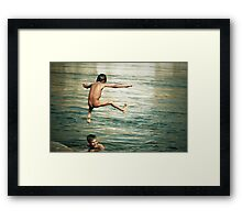 That was a great day Framed Print