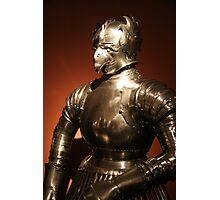 Plate armour, Prague Photographic Print