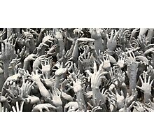 Entrance lagoon, Wat Rong Khun Photographic Print