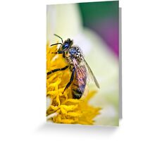 Pollen Elegance Greeting Card
