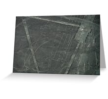 The Nazca Lines, No.2 Greeting Card