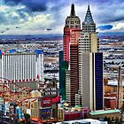 Las Vegas cityscape by Analia