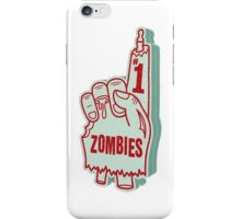 Number One Zombies iPhone Case/Skin