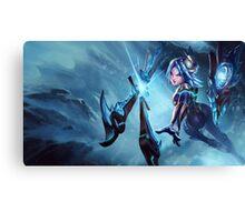 Frostblade Irelia League of Legends Canvas Print